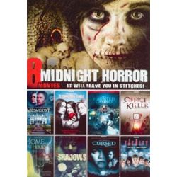 8 Movie Midnight Horror Collection: It Will Leave You In Stitches! (DVD)