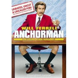 Anchorman: The Legend Of Ron Burgundy - Unrated (Widescreen) (DVD 2004)