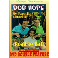 Bob Hope: My Favorite Brunette/ Road To Bali (Double Feature) (DVD 1952)