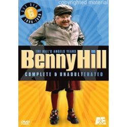 Benny Hill, Complete And Unadulterated: The Hill's Angels Years - Set Six (DVD 1986)