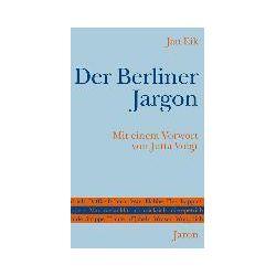 eBooks: Der Berliner Jargon  von Jan Eik