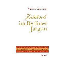 eBooks: Jiddisch im Berliner Jargon  von Andreas Nachama