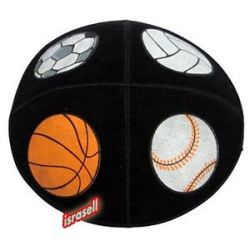 Sport Kippah Baseball Football Basketball Volleyball Jewish Suede Yamaka