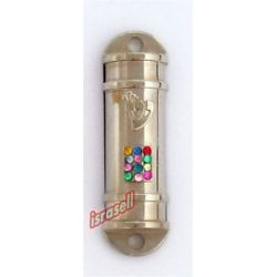 Car Mezuzah with Traveler Protection Scroll Hoshen Plate Judaica Gift