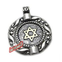 Star of David ANA Be'Koach Pendant Protection Healing