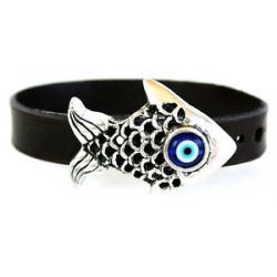 Bracelet for Protection Against Evil Eye Fish Amulet Charm Talisman