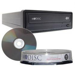 M Disc CD DVD Media External Burner Writer Drive w Blank 10pk Millenniata Mdisc