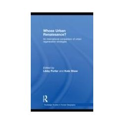 eBooks: Whose Urban Renaissance?. An international comparison of urban regeneration strategies