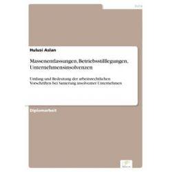 eBooks: Massenentlassungen, Betriebsstilllegungen, Unternehmensinsolvenzen  von Hulusi Aslan