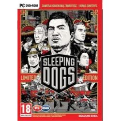 Sleeping Dogs: Limited Edition (PC) DVD