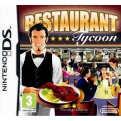 Restaurant Tycoon (NDS) DS Game Card