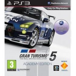 Gran Turismo 5: Academy (PS3) Blu-ray Disc