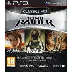 Tomb Raider: Trilogy (PS3) Blu-ray Disc
