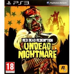 Red Dead Redemption: Undead Nightmare (PS3) Blu-ray Disc