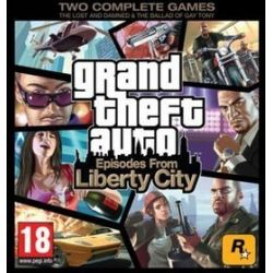 Grand Theft Auto: Episodes From Liberty City (PS3) Blu-ray Disc