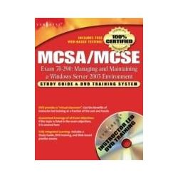 eBooks: MCSA/MCSE Managing and Maintaining a Windows Server 2003 Environment (Exam 70-290). Study Guide & DVD Training System  von Syngress