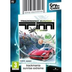 TrackMania Sunrise Extreme (gry dla Ciebie) (PC) CD-ROM