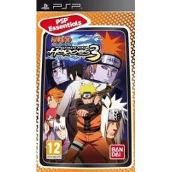 Naruto Shippuden: Ultimate Ninja Heroes 3 Essentials (PSP) UMD Video