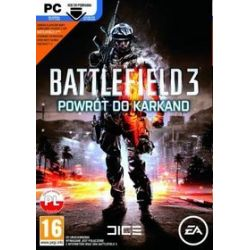 Battlefield 3: Powrót do Karkand (PC) CD-ROM