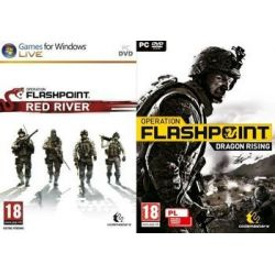 Operation Flashpoint + Red River (PC) DVD