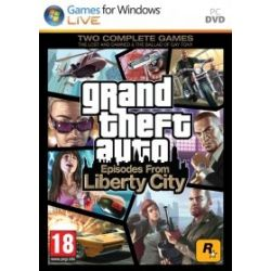 Grand Theft Auto: Episodes From Liberty City (PC) DVD