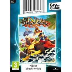 Nikita: Piracki Wyścig (gry dla Ciebie) (PC) DVD