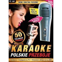 Karaoke: Polskie Przeboje nowa edycja - z mikrofonem (PC-DVD) DVD