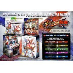 Street Fighter X Tekken Edycja Kolekcjonerska (Xbox 360) DVD