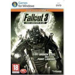 Fallout 3: Broken Steel + Point Lookout (PC) DVD