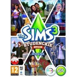 The Sims 3: Studenckie życie (dodatek) DVD
