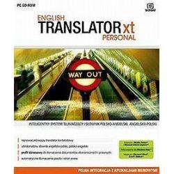 English Translator XT Personal CD-ROM