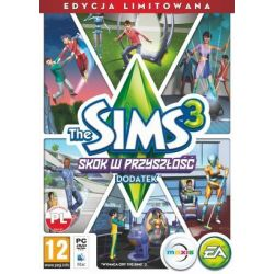 The Sims 3: Skok w przyszłość - Edycja limitowana (PC) (dodatek) DVD