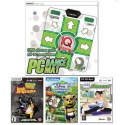Family Pack - mata DANCE + 3 gry (Mój Fitness, Dance Party Jest Imprezka, Miś Hubert - Olimpiada Podwórkowa) (PC) CD-ROM