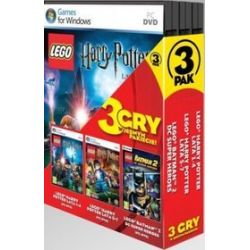 3PAK: LEGO Harry Potter: Lata 1-4 + LEGO Harry Potter: Lata 5-7 + LEGO Batman 2: DC Super Heroes (PC) DVD