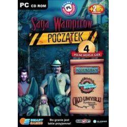 Pakiet 4 gier: Saga Wampirów Początek, Arkson, Kawiarnia Amelii: Świąteczna gorączka, Oko Umysłu: Zapomniane Sekrety (PC) CD-ROM