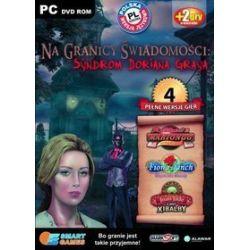 Pakiet 4 gier: Na Granicy Świadomości: Syndrom Doriana Graya, Mahjongg Artefakty 2, Joan Jade u wrót Xibalby, Fiona Finch: Wspaniałe Kwiaty (PC) DVD