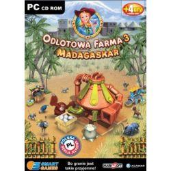 Odlotowa Farma 3: Madagaskar (PC) CD-ROM