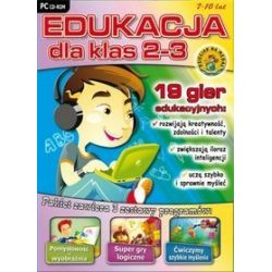 Edukacja dla klas 2-3 (seria Zabawa i Nauka) CD-ROM