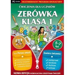 Ćwiczenia dla uczniów - Zerówka i Klasa 1 (PC) CD-ROM