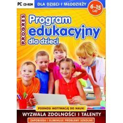 Program Edukacyjny Dla Dzieci PROGRES CD-ROM