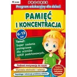 Progres: Pamięć i koncentracja (6-13 lat) CD-ROM