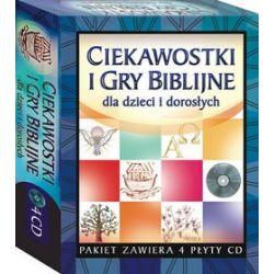 Ciekawostki i gry biblijne dla dzieci i dorosłych CD-ROM