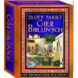 Złoty pakiet gier biblijnych. (4 x CD/DVD) DVD