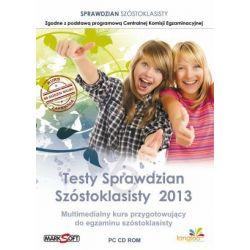 Testy Sprawdzian Szóstoklasisty 2013 CD-ROM