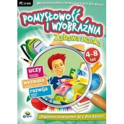 Pomysłowość i Wyobraźnia (Zabawa I Nauka) - nowa edycja CD-ROM