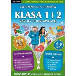 Ćwiczenia dla uczniów - Klasa 1 i 2 Szkoły Podstawowej (PC) CD-ROM