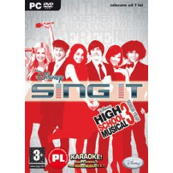 Disney Sing It! High School Musical + mikrofon DVD