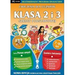 Ćwiczenia dla uczniów - Klasa 2-3 Szkoły Podstawowej (PC) CD-ROM