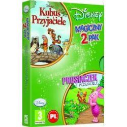 Magiczny 2Pak -  Kubuś i przyjaciele + Prosiaczek i przyjaciele (PC) DVD