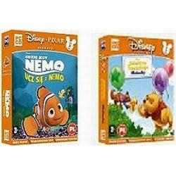 PAK DE Gdzie jest Nemo: Ucz się z Nemo + DE Kubusiowe Przedszkole Maluchy CD-ROM